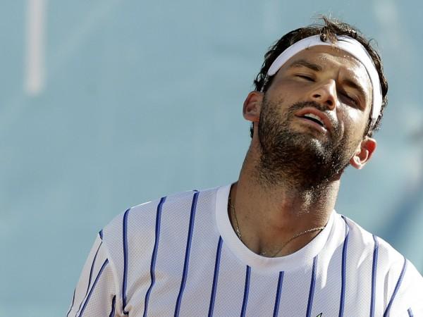 Най-добрият български тенисист Григор Димитров приключи участието си в демонстративния