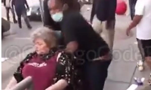 Жена в инвалидна количка бита и пръскана с пожарогасител - каква е истината?