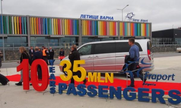 Оживление на Летище Варна, 100 полета през седмицата