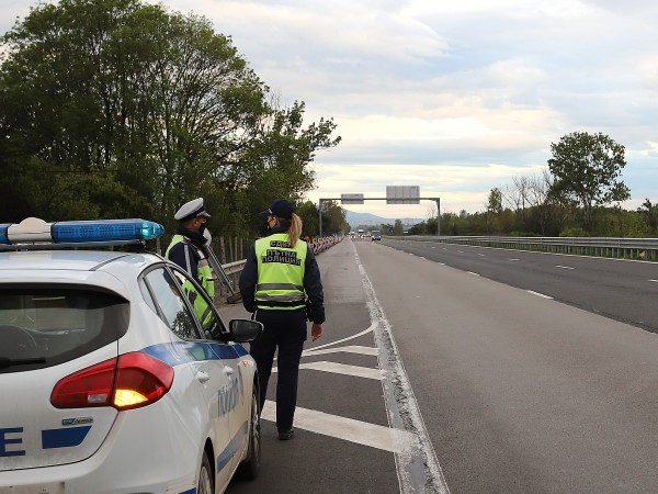 "Верижна катастрофа на автомагистрала ""Тракия"" е станала тази вечер при"