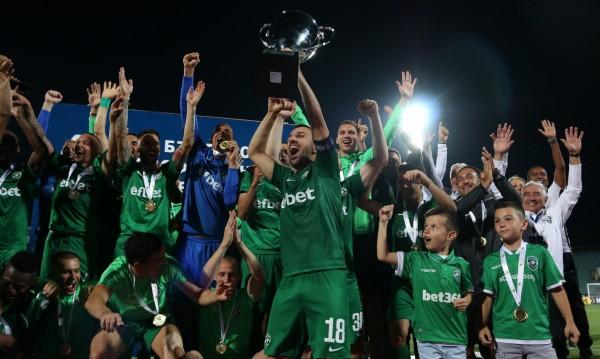 """За девети пореден път – """"Лудогорец"""" е шампионът на България"""