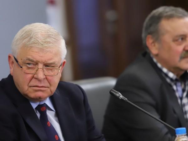 Министърът на здравеопазването Кирил Ананиев дава брифинг в Министерството на