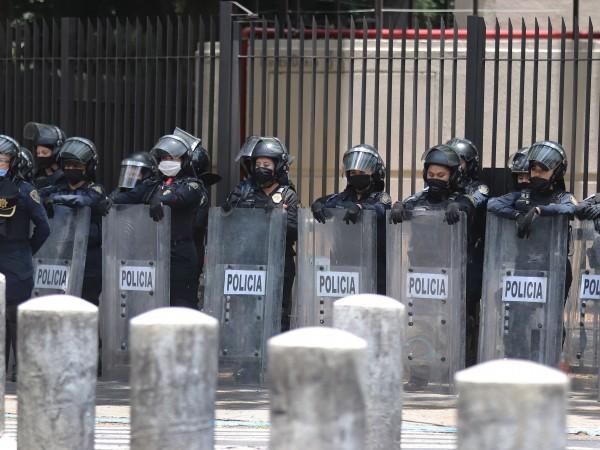 Началникът на полицията в мексиканската столица Омар Гарсия Харфуч е