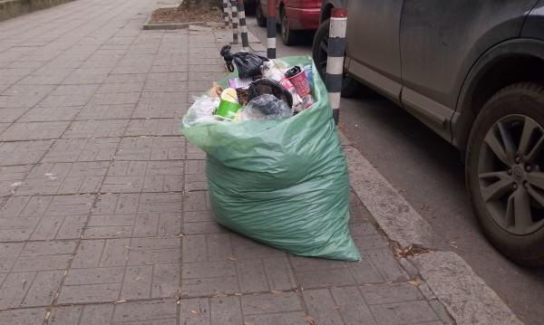 """Деца от """"Факултета"""" помогнаха за почистването на квартала"""