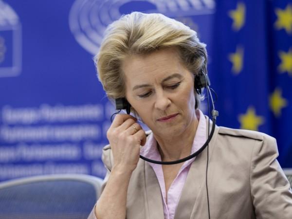 Председателят на Европейската комисия Урсула фон дер Лайенсъобщи, че Комисията
