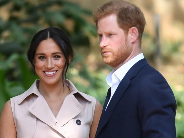 Британският принц Хари и съпругата му, херцогинята на Съсекс Меган
