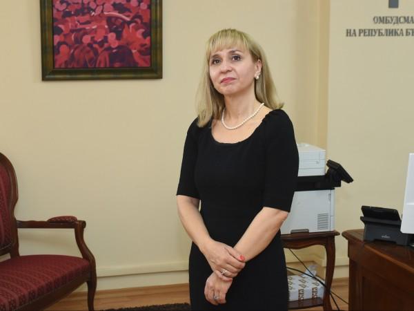 Омбудсманът Диана Ковачева изпрати писмо до представляващия Висшия съдебен съвет