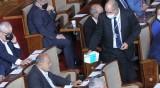 Депутати без маски в пленарната зала отнесоха глоби от РЗИ