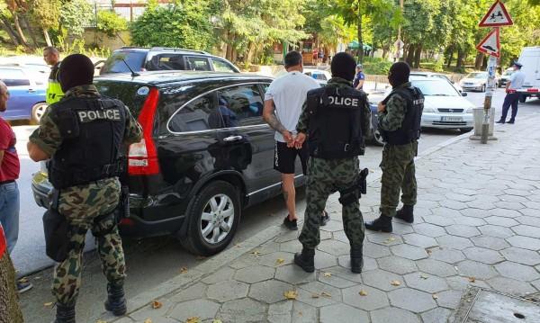 Арестуваха шефа на охраната на Васил Божков в Сандански