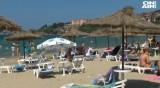 """Близо 800 туристи останаха без чадъри и шезлонги на """"Златна рибка"""""""
