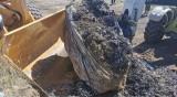 Над 120 т достигна откритият боклук край Червен бряг и с. Рупци