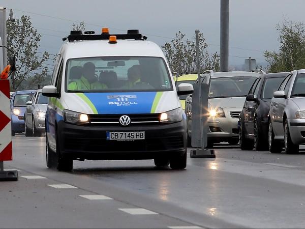 8442-ма шофьори са глобени за 1 година край Чирпан -