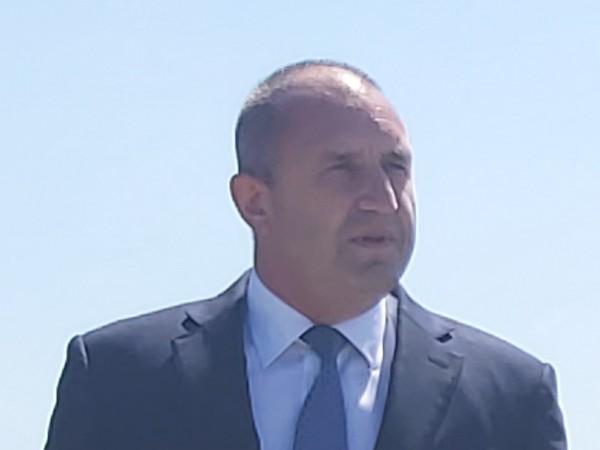 Държавният глава Румен Радев поздрави президента Доналд Тръмп по случай