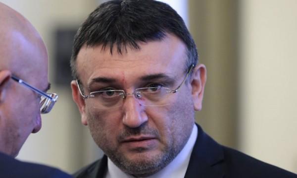 Протест на празника, но Маринов честити на всички в МВР