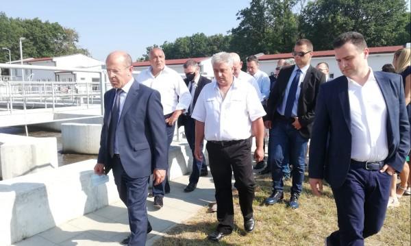 Борисов в Китен: Изпълнихме обещаното, да предоставим най-чистото море