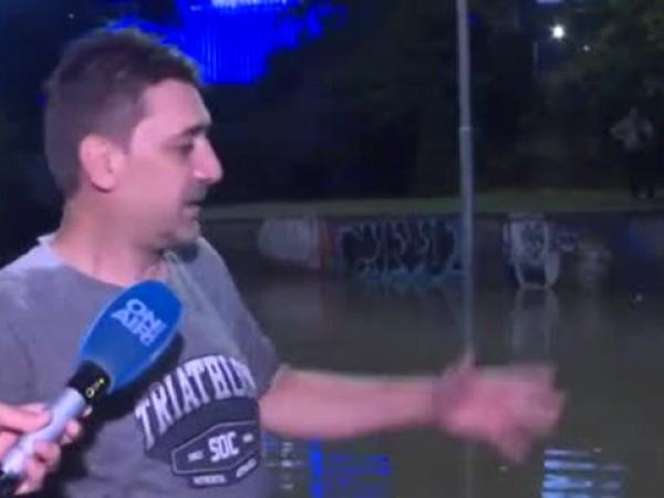 Мощна буря с гръмотевици и на места градушки, удари София