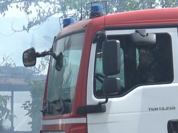 Двама души са спасени при пожар в Търговище. Това е