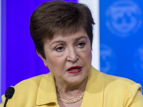 Управляващият директор на Международния валутен фонд Кристалина Георгиева призова политиците