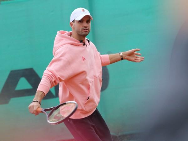 Най-добрият български тенисист Григор Димитров е дал отрицателна проба за