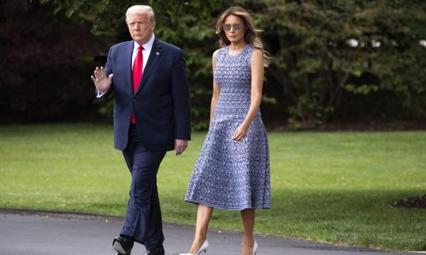 Мелания Тръмп с нови критики за стила й