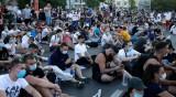 Протестите в Белград – без полиция и без насилие