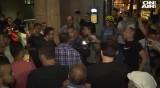 Агресия срещу екип на Нова телевизия на протестта