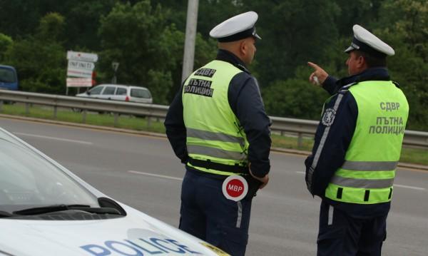 """Акция на """"Пътна полиция"""" в Бургас през уикенда"""