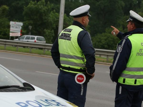 Пътната полиция в Бургас започна акция и предприе мерки за