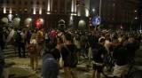 Трима полицаи са ранени, 10-20 протестиращи са задържани в София