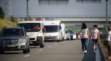 """Опашка от автомобили на ГКПП """"Кулата"""" за влизане в Гърция"""