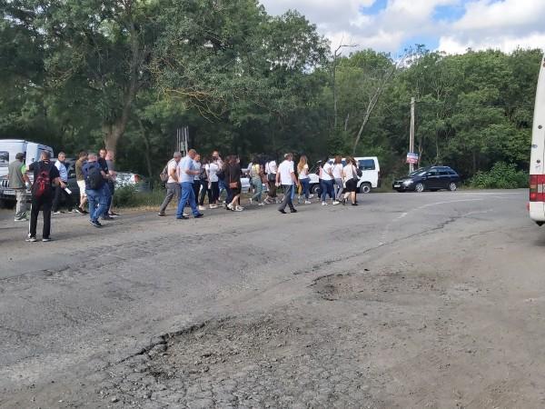 Във връзка с организираните днес протестни действия в района на