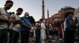 """Ердоган: Мнението на други не променят решението за """"Света София"""""""