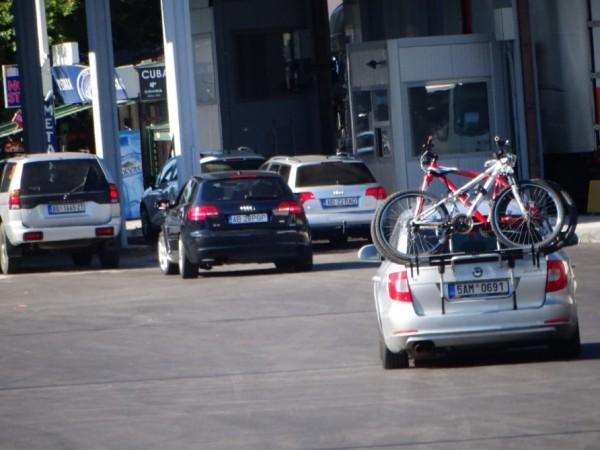 И тази сутрин се нареди опашка от автомобили на ГКПП