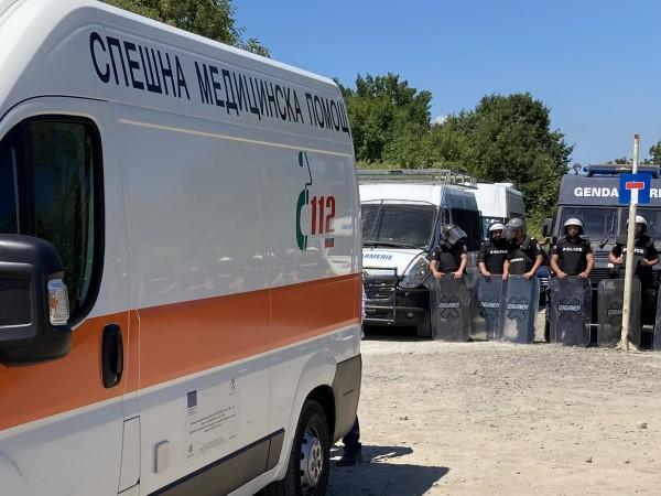 """След вчерашните противоречия, днес край парк """"Росенец"""" няма напрежение. Хората"""