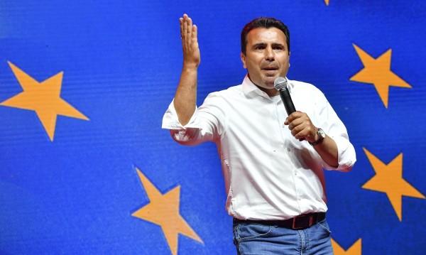 Зоран Заев иска подкрепата на македонците