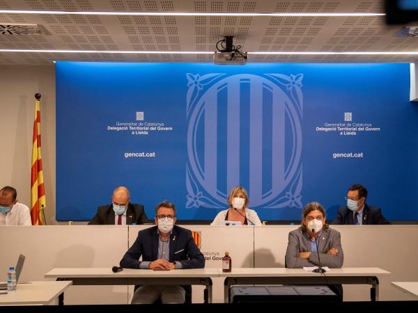 Властите в Каталуния наредиха на жителите на зона около град