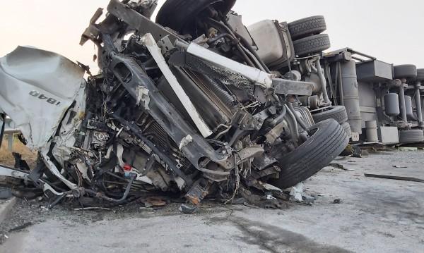 """Млада шофьрка като по чудо се спаси от тежката катастрофа на """"Тракия"""""""