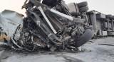 """Млада шофьрока като по чудо се спаси от тежката катастрофа на """"Тракия"""""""