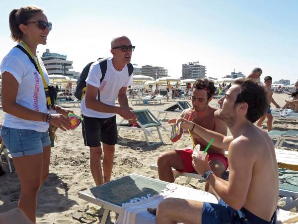 Вместо спокойствие, напрежение се появи по плажовете на Италия след
