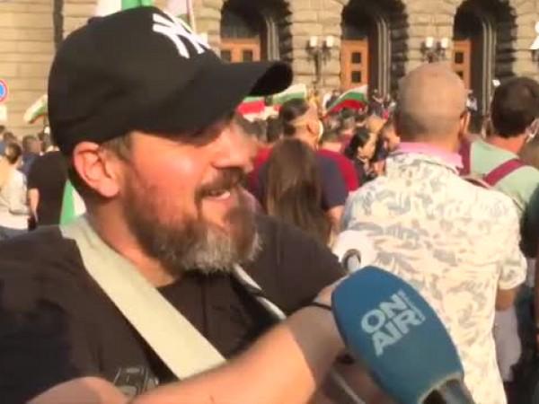Кои са лицата на протеста? Екип на Bulgaria ON AIR