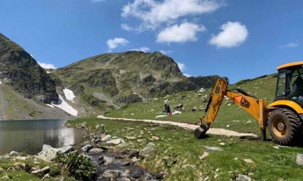 Приключи проверката на реновираните пътеки за Седемте рилски езера