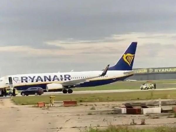 Самолет на Ryanair е трябвало да кацне аварийно, след като