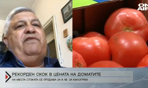 Защо цената на доматите скочи до рекордни нива?