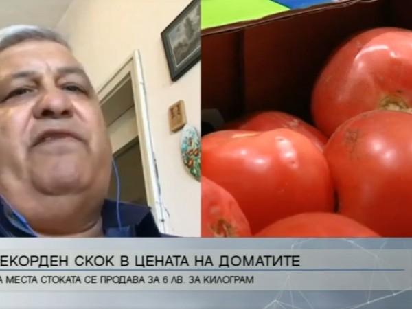Цената на доматите отново скочи и стигна 10-годишен рекорд. На