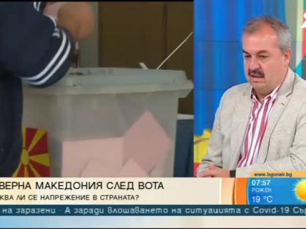 Председателят на Социал-демократическия съюз на Северна Македония и бивш премиер