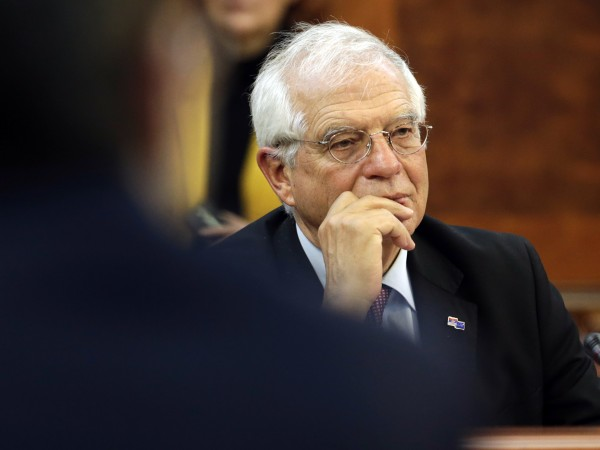 Върховният представител по външната политика и сигурността Жозеп Борел разкритикува