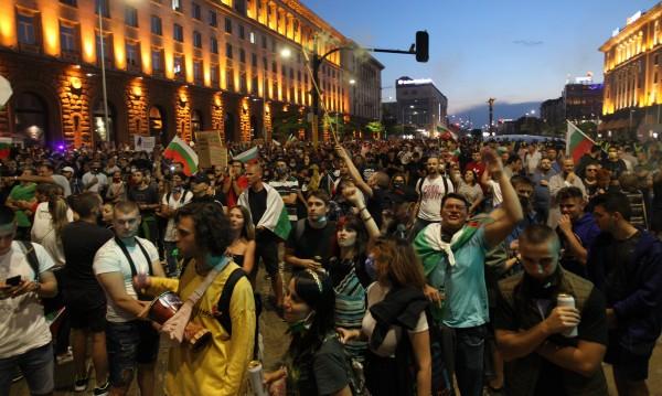 СДВР: Седем души са задържани на протеста вчера