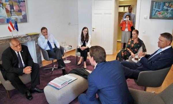 Борисов: Да се запазят парите за селскостопанската и кохезионната ни политика
