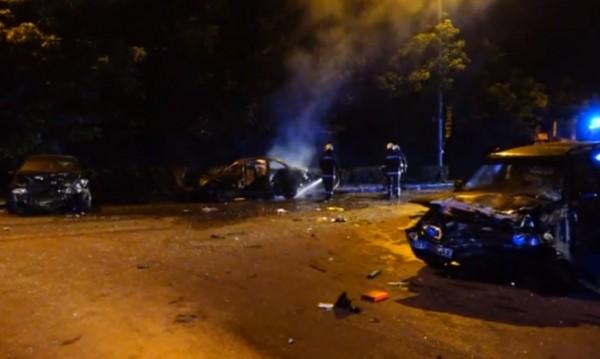 Тежка катастрофа в Горна Оряховица, петима са в болница