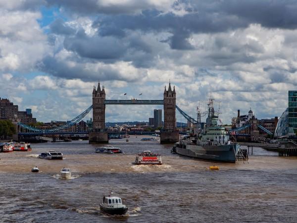 Река Темза е сред най-силно замърсените в света реки с